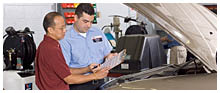 Talk with our ASE Certified Technicians about your next auto service
