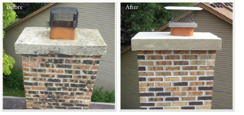 Chimney Repair provided by AAA Empire Home Improvement in Fairfield NJ