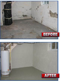 Waterproofing provided by AAA Empire Home Improvement in Fairfield NJ