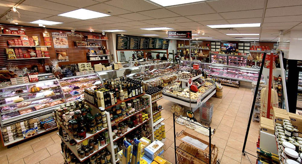 Inside A&A Fine Foods in Lincoln Park NJ