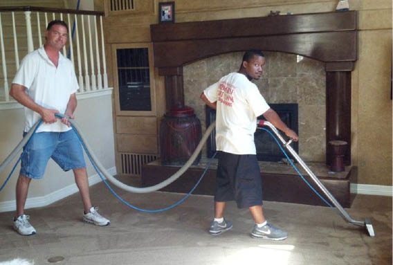 America's Best Carpet Cleaning in Denver, CO steam cleans carpet and removes pet stains