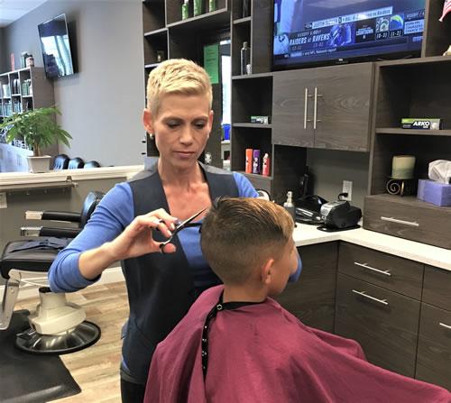 Kids haircuts near Duluth, GA
