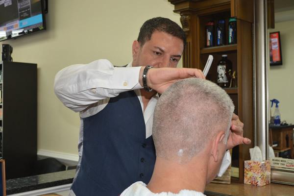 Barber shop near Johns Creek, GA