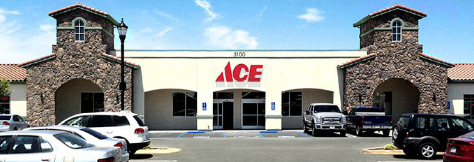 ACE Hardware in Oakley, CA building exterior storefront banner