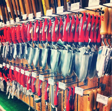 Gardening tools at ACE Hardware