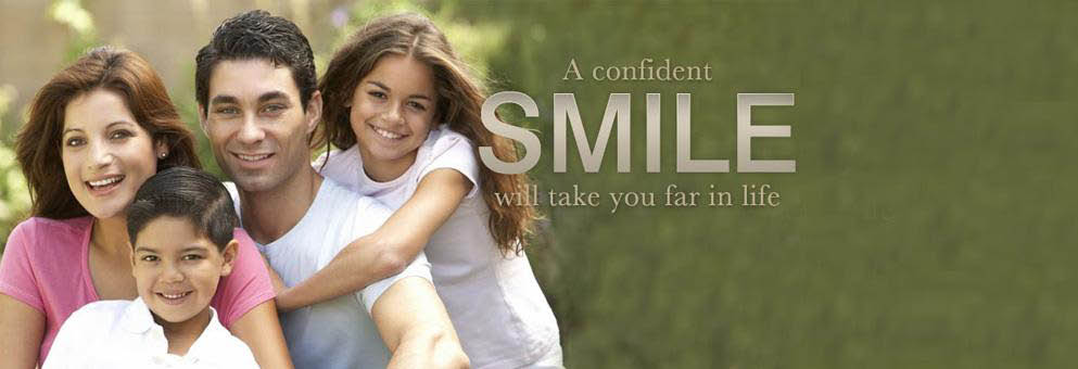 Bountiful Ridge Dental Banner: A confident smile will take you far in life.
