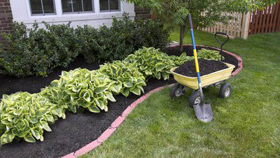 Mulching from A & D Property Maintenance in Dover NJ