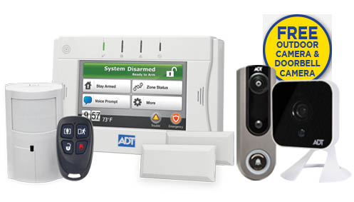 ADT Protect your home outdoor camera package