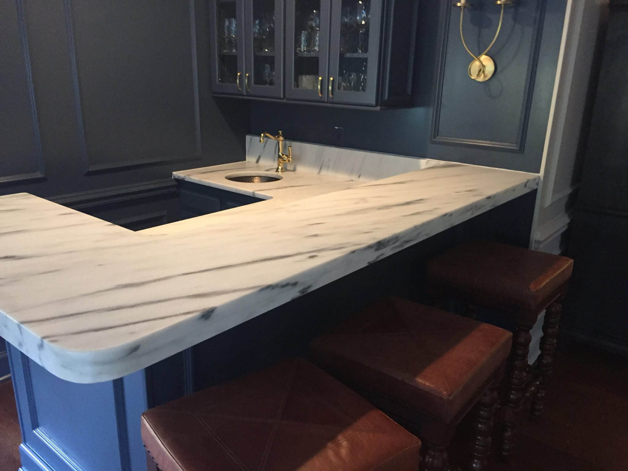 Marble countertop near St Charles County, MO
