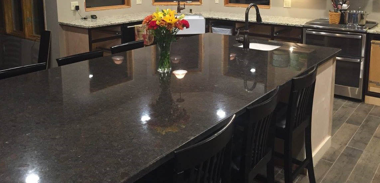 Home improvement, granite countertop
