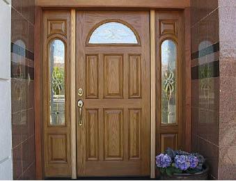 The doors we install are designed and built provide structural strength and security with superior thermal efficienc