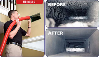 Air duct cleaning near Casa Adobes