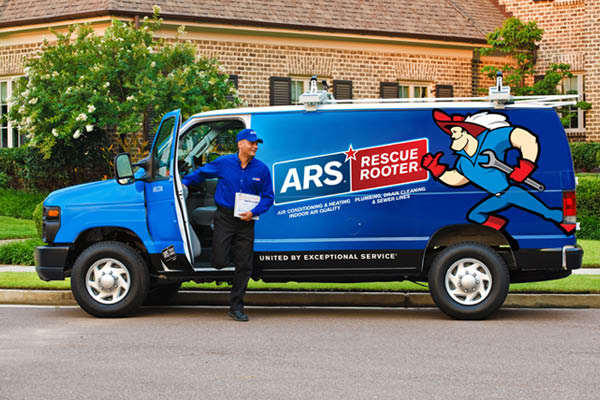 ARS Rescue Rooter of Raleigh Van