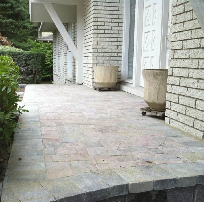 photo of patio created by A & S Hardscaping
