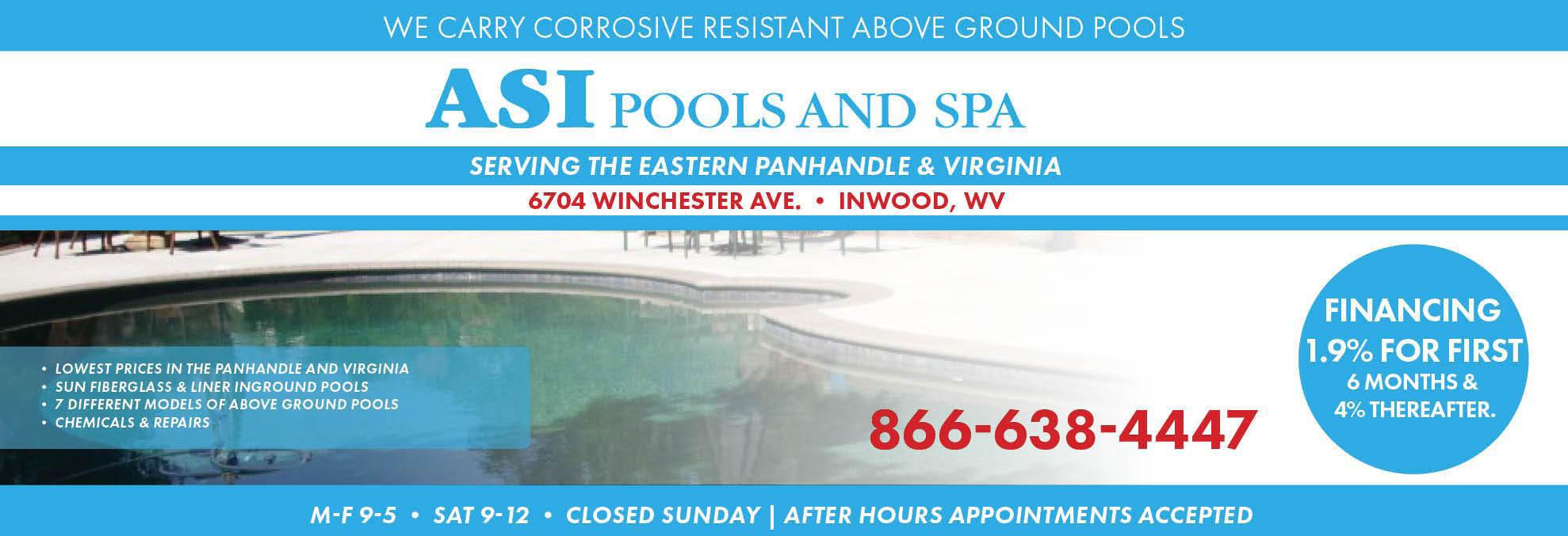ASI, Pool, Pools, Spa, Spas, In Ground Pool, Above Ground Pool, Pool Repairs