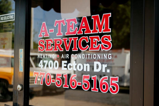 North Metro Atlanta area's heating and air conditioning service the a-team