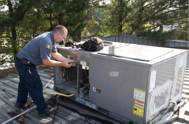 heating and air conditioning service and repairs