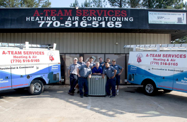 highly trained technicians provide quality workmanship at the A-team