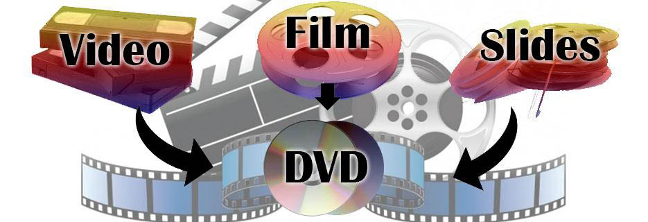 Video-8mm Film-Slides-Photos:to DVD- DVD/CD Duplication- LP/Audio Tape To CD