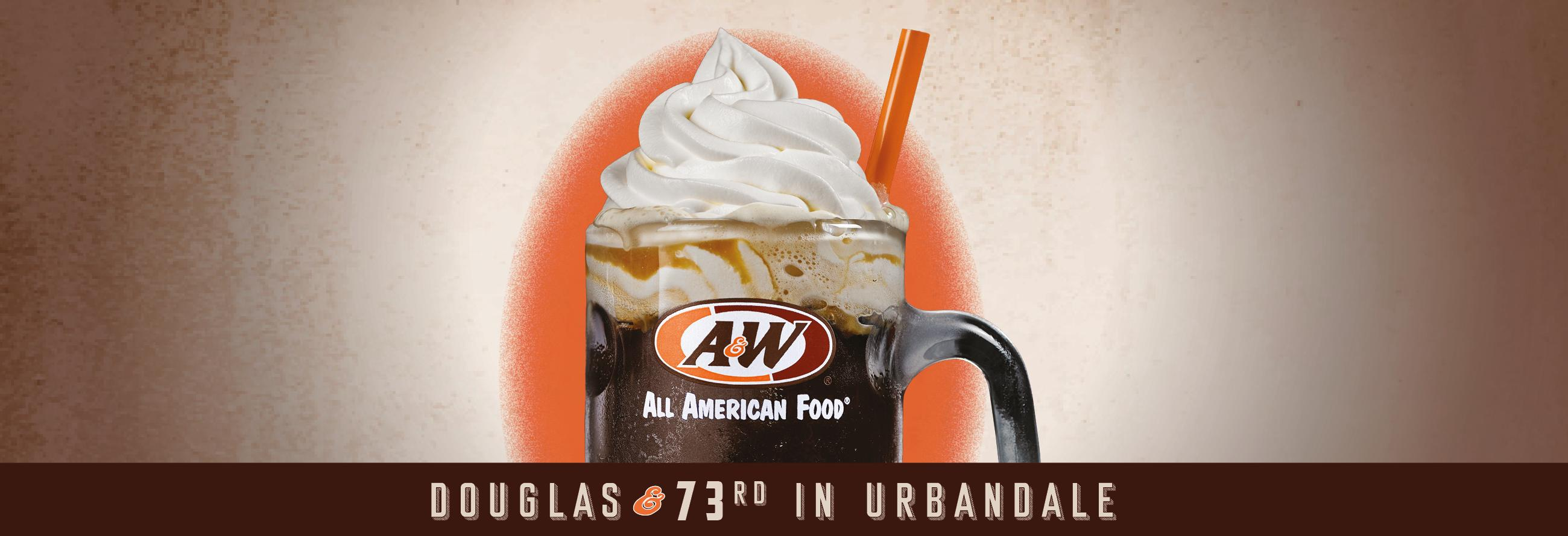 A&W all American food long john silvers fast food root beer floats Urbandale Iowa