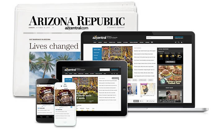 Daily News Paper In Phoenix, AZ! subscribe today for the newest mail