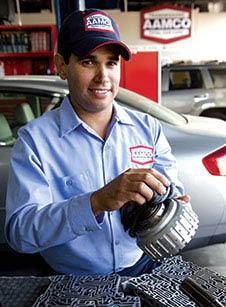 Aamco auto technician rebuilding a transmission - Aamco Puyallup - Aamco Auburn - general auto repair - Puyallup, WA - Auburn, WA