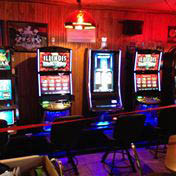 We have Bally, WMS, IGT and Gtech Video Gaming Machines, ATMs and redemption terminals, a range of amusements including pool tables, dart boards, TouchTunes digital jukebox, Golden Tee, Cranes, and other video games and amusements.