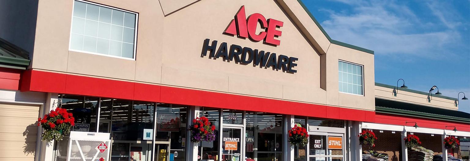 Kortendick Ace Hardware Racine WI banner
