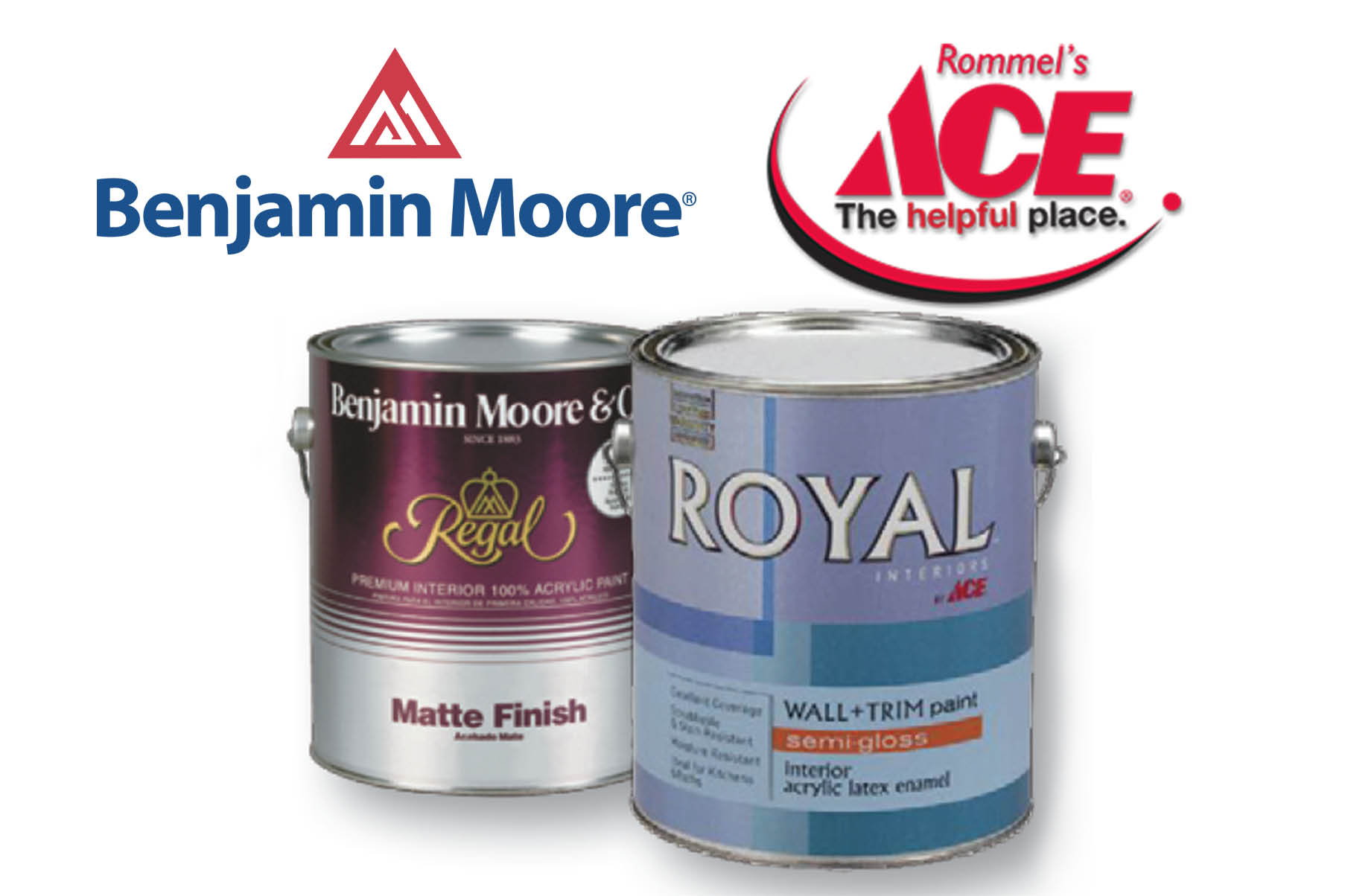 Rommel's Ace featuring Benjamin Moore and Ace Brand Paint