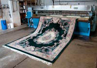 photo of Oriental rug cleaned by Ace Rug Cleaners in Lansing, MI