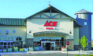 Ace Hadware store frontage exterior
