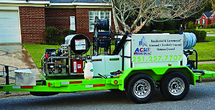 Acme Pressure Washing Truck