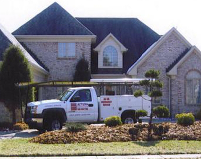 garage door repair louisville Action Overhead Door garage door repair in Louisville KY Logo