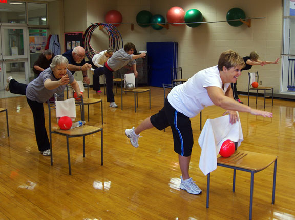 Active older adult balance classes