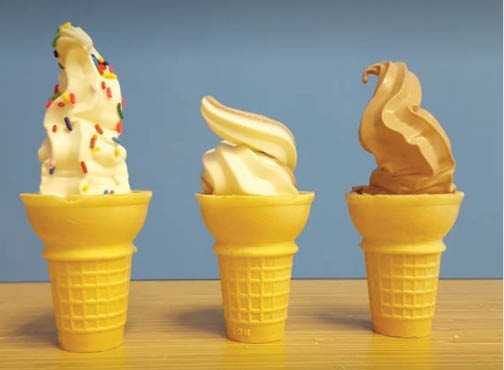 Get gelato and Italian ice near Lake Buena Vista