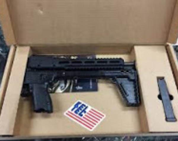 Picture of gun at Adam's Gun Shop in Flushing