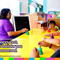 Our mission is to revolutionize the childcare industry with a unique program that promotes: Family involvement, Emotional support, Learning through activities.