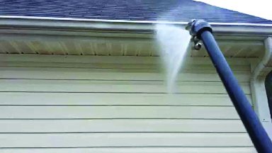 best way to clean gutters affordable pressure washing cedar rapids IA