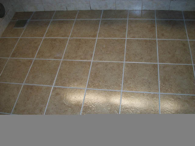 After Tile & Grout Cleaning by MARBLELIFE