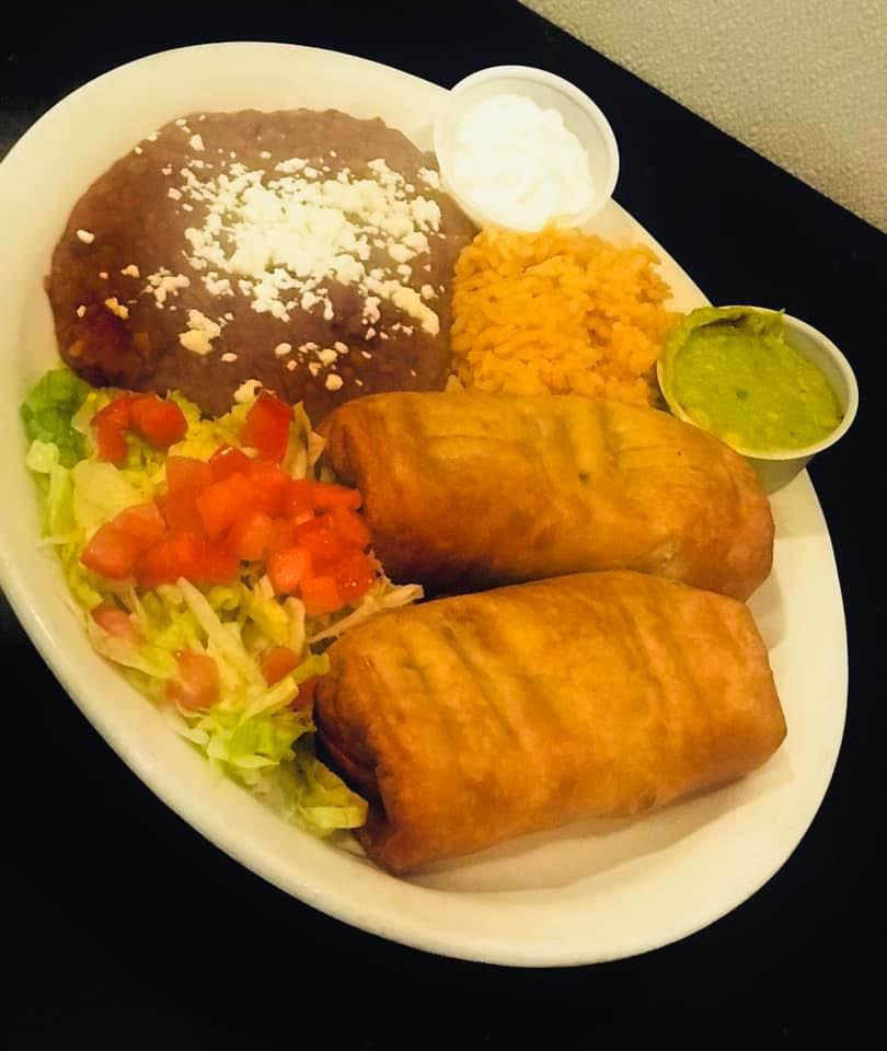 Agave-Blu-Cantina-Dinner-Chimichanga