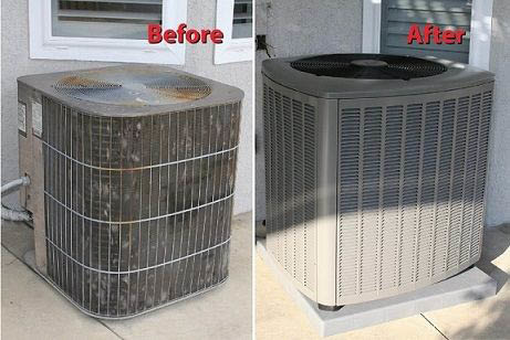 Service Champions provide central air conditioning installation