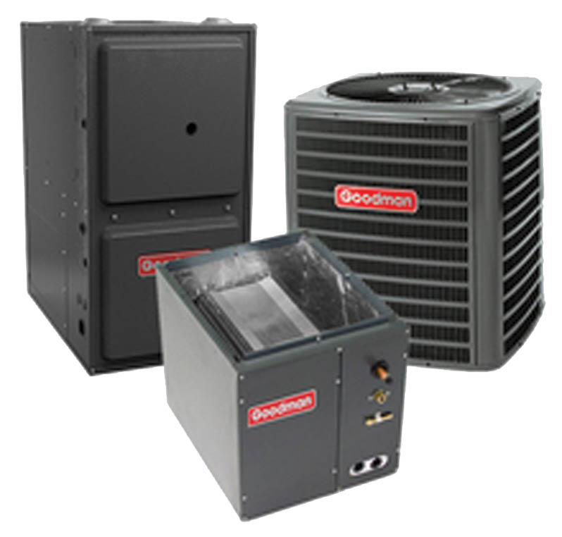 Goodman Air Conditioning & Heating Save on Goodman units New Goodman AC unit New Goodman Heating unit