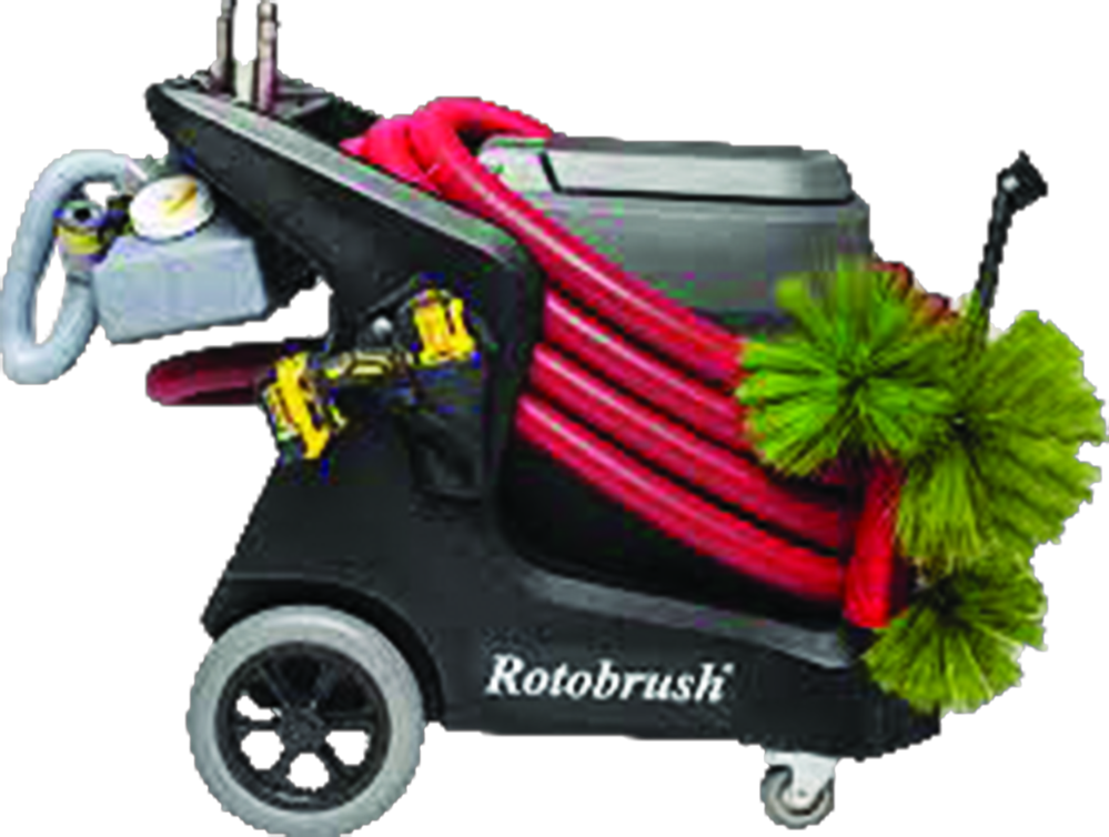 Rotobrush for quality air duct cleaning
