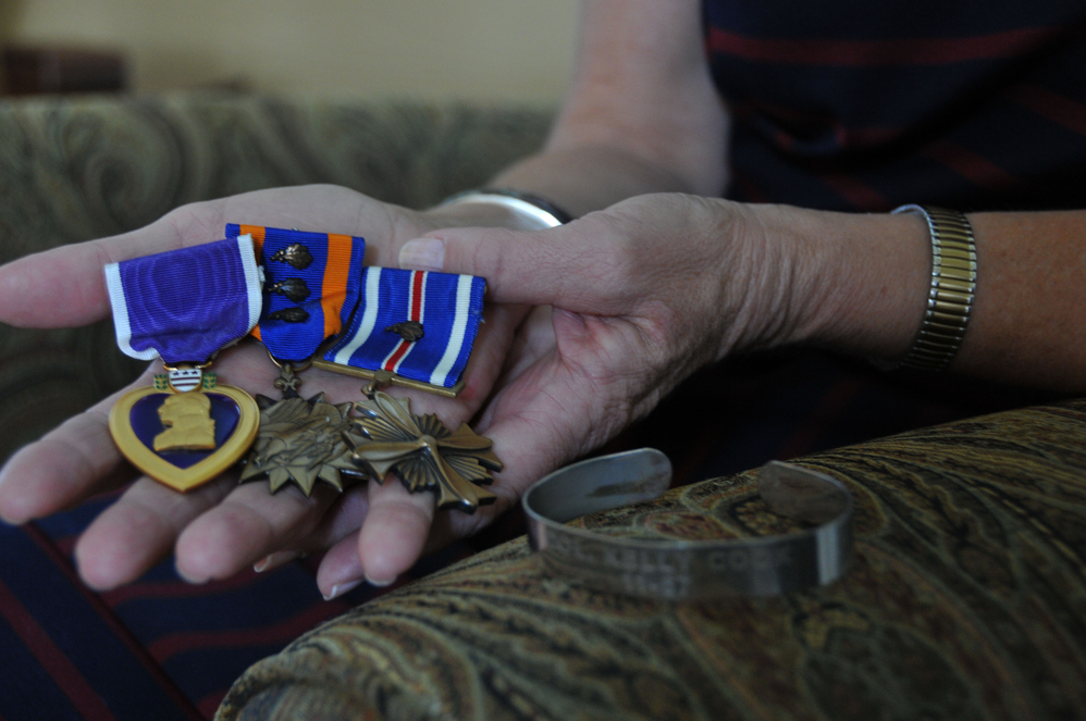Medals earned by veterans