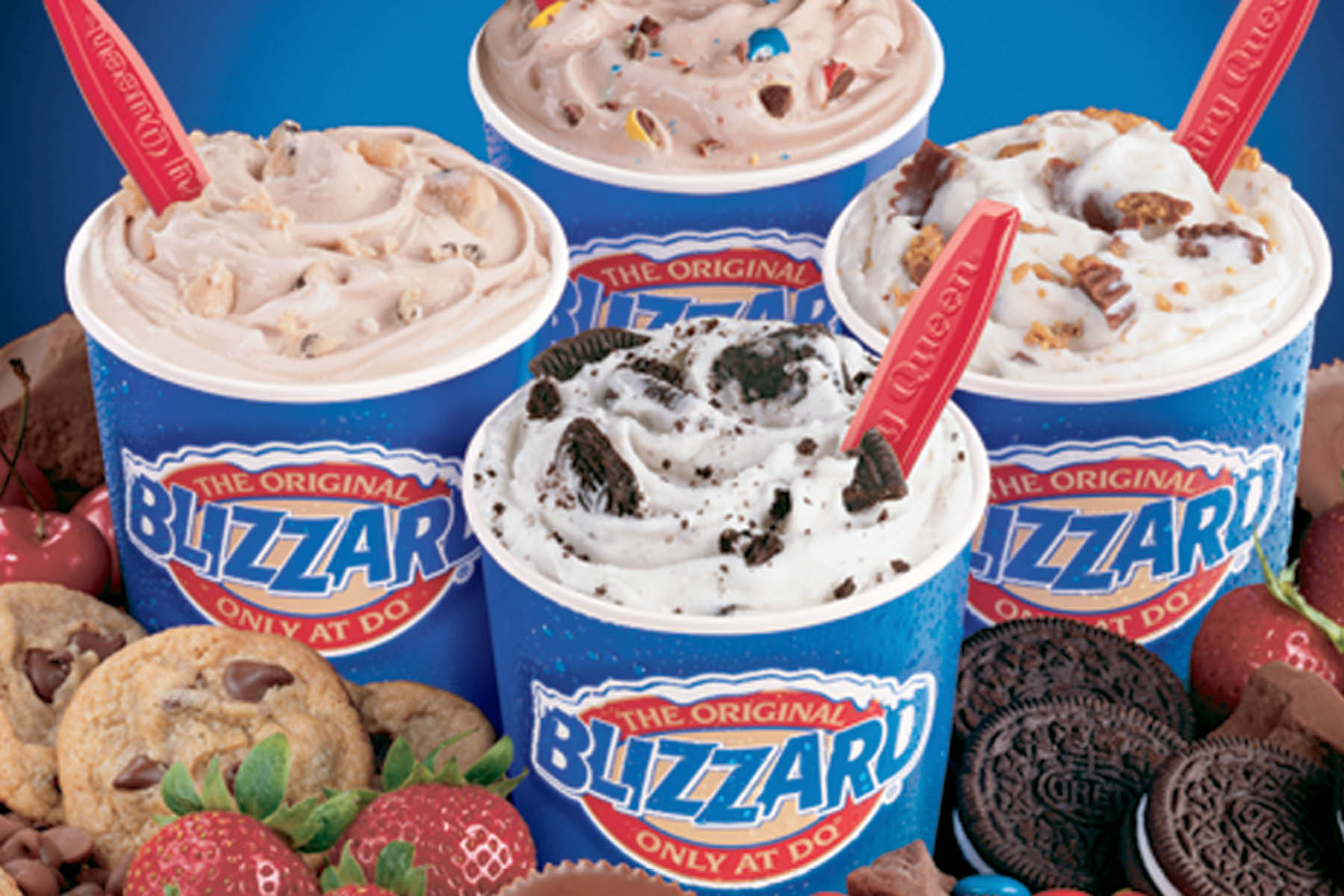 Ice Cream, Blizzards, Milkshakes, Smoothies, Soft Serve Ice Cream