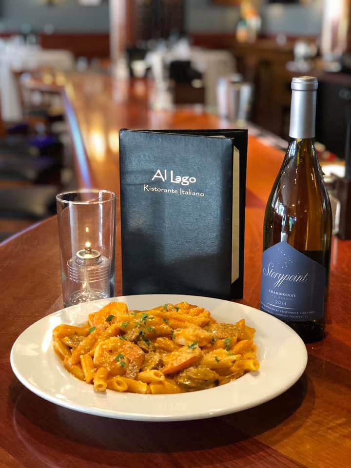Authentic Italian pasta is a favorite at Al Lago in Lake Tapps, Washington - dining coupons near me - restaurant coupons near me