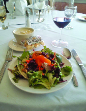 A great selection of soups, chowders & salads for lunch or dinner