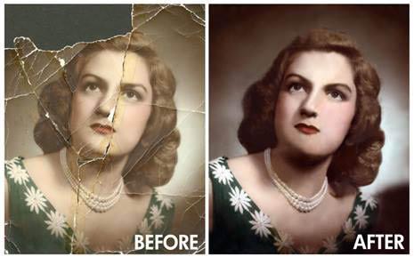 Picture Restoration in Alexandria, VA.