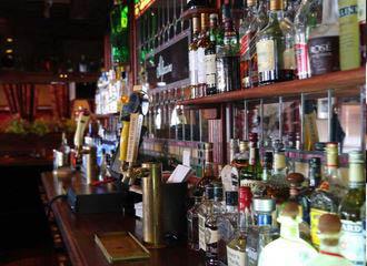 photo of wine from bar area at Alfoccino's in Auburn Hills, MI or Farmington Hills, MI