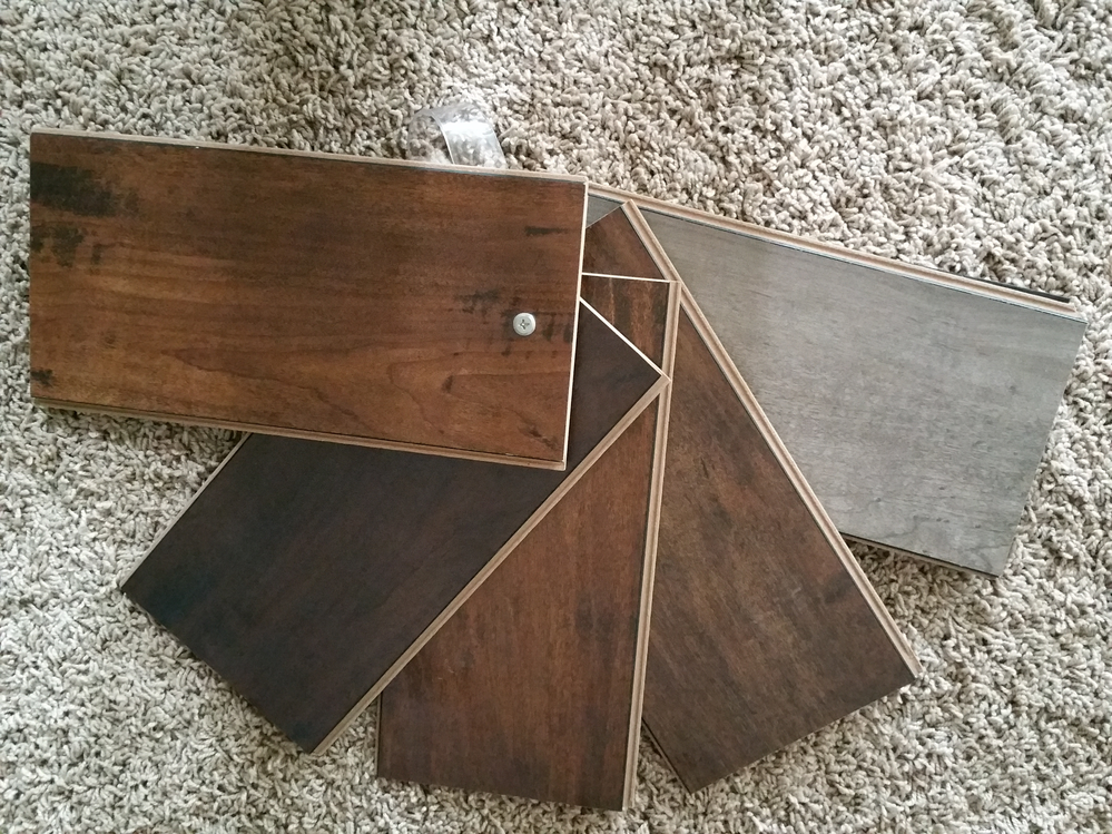 Samples of flooring - flooring samples from All Floors and Interiors in Puyallup, WA - large selection of flooring products to meet your every need